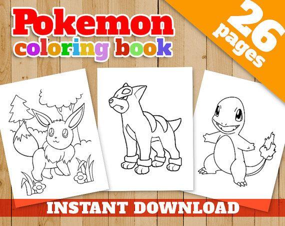 Pokemon Coloring Pages Pdf