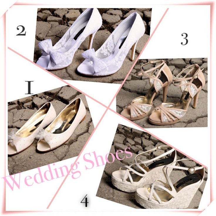 Which type of wedding shoes would you prefer for your wedding?