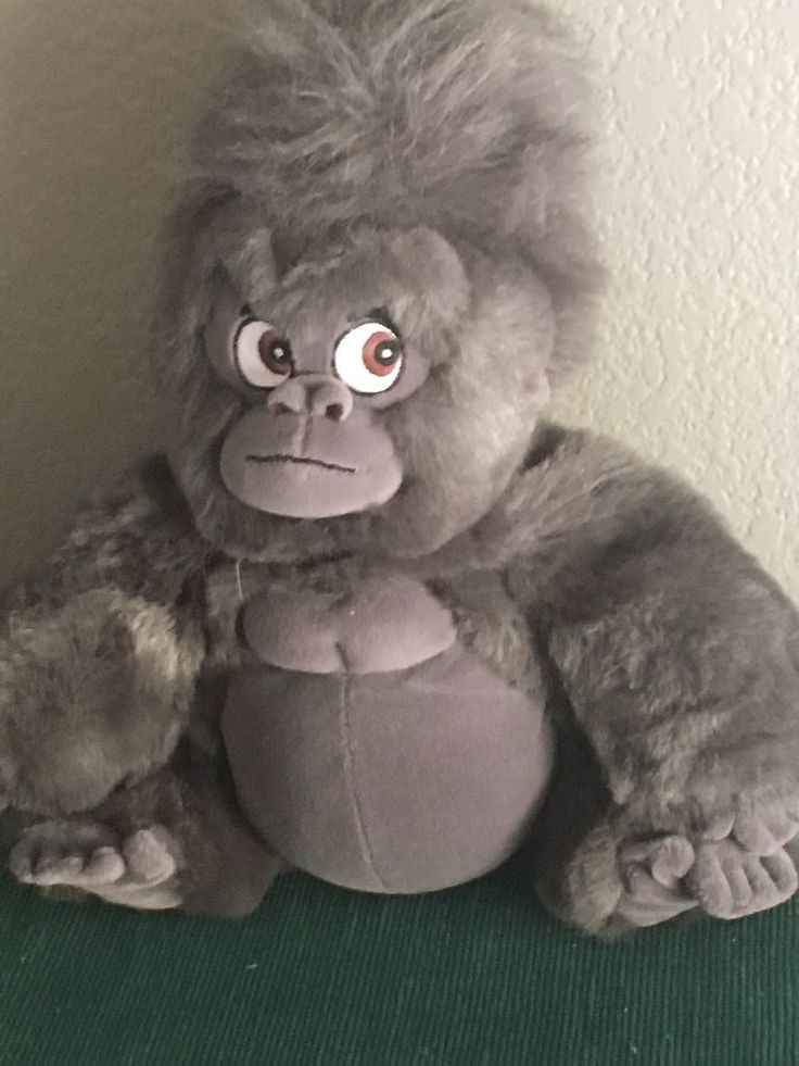 "Walt Disney 12"" Tarzan Terk the Gorilla Plush Stuffed Animal Monkey Chimp  #Disney"