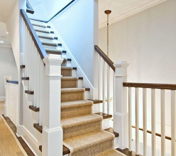 Les 25 meilleures id es de la cat gorie tapis d 39 escalier sur pinterest tapis pour escalier - Tapis d escalier contemporain ...