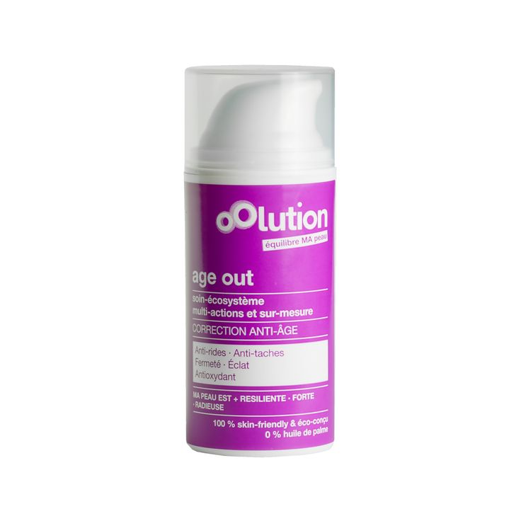 Oolution - Age Out- Soin du Visage Multi-actions Correction Anti-Age - Birchbox