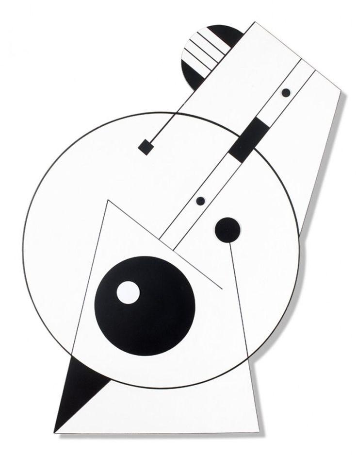 Sin título, 2006. Acrílico sobre madera. 85 x 50 cm. – Foto: Estúdio Roth.