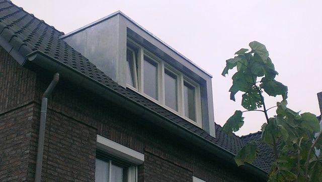 Zink modern style dakkapel