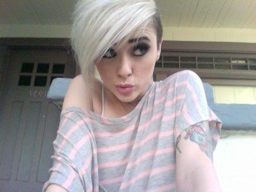 Astonishing 1000 Images About Sidecut Hairstyles On Pinterest Mohawks Side Short Hairstyles Gunalazisus