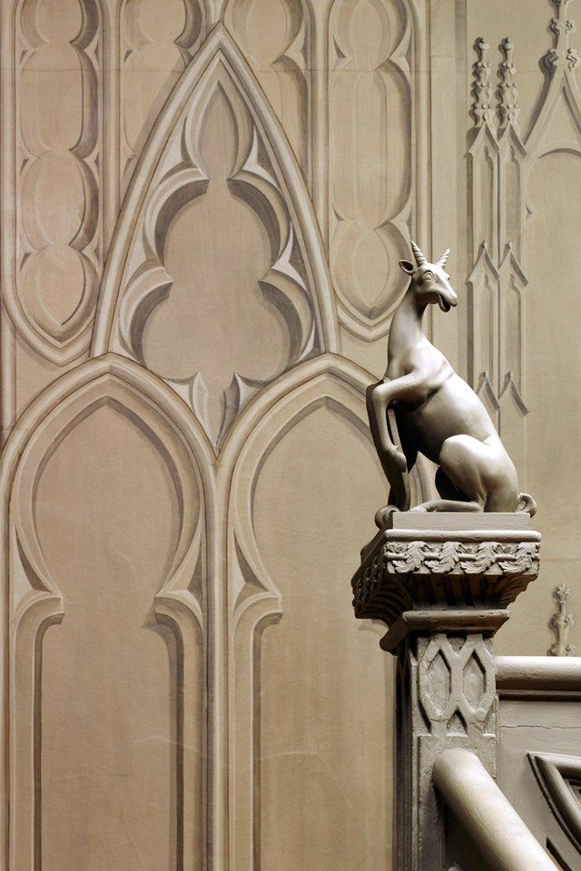 Horace Walpole Private Rooms   Strawberry Hill   Gothic Revival (houseandgarden.co.uk)