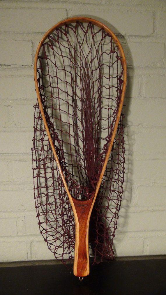 Vintage Fishing Net Trout Net Fly Fishing Net Catskill Fishing Net Fly Fishing Net Fishing Waders Vintage Fishing