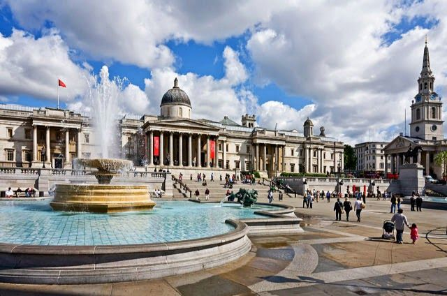 50 Most Popular Tourist Attractions In The World: Trafalgar Square, London, England, UK. 17 down 33 to go!
