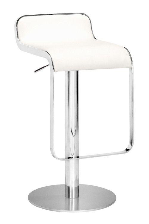 Zuo Modern Equino Barstool  in White