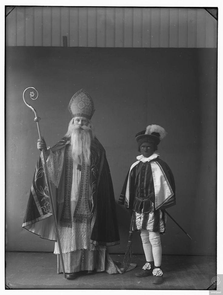 Sint Nicolaas met z'n knecht, 1924