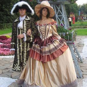 Исторические костюмы фотто