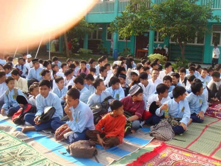 acara maulid nabi di sekolah