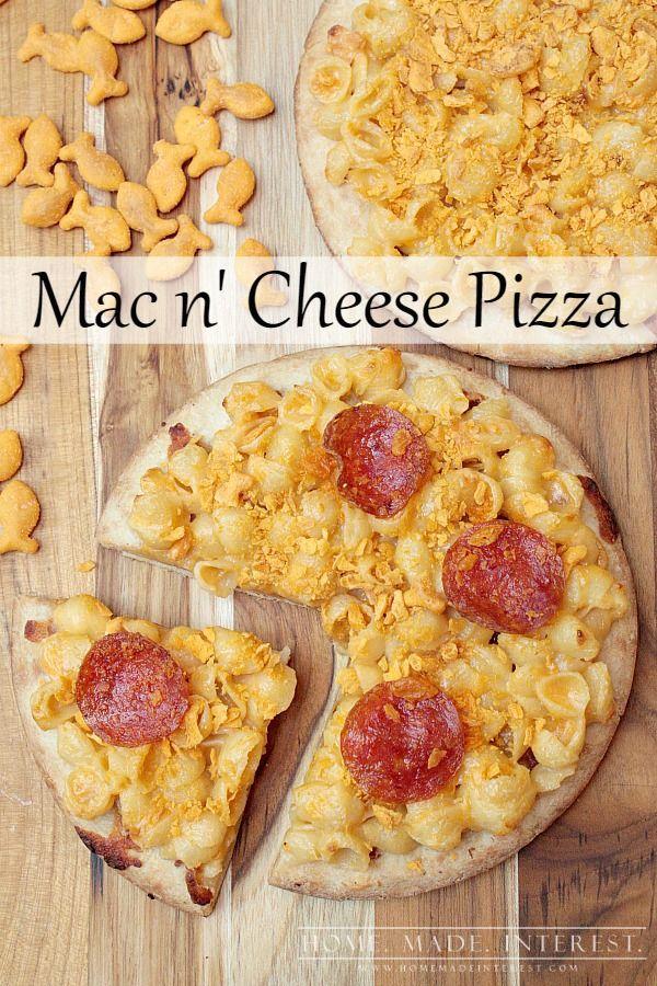 Mac n' Cheese Pizza | Recipe | Pepperoni, Pizza and Macaroni and ...