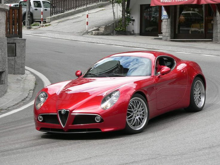 It grew at least an inch just by staring at this picture...I swear.  Alfa Romeo 8C