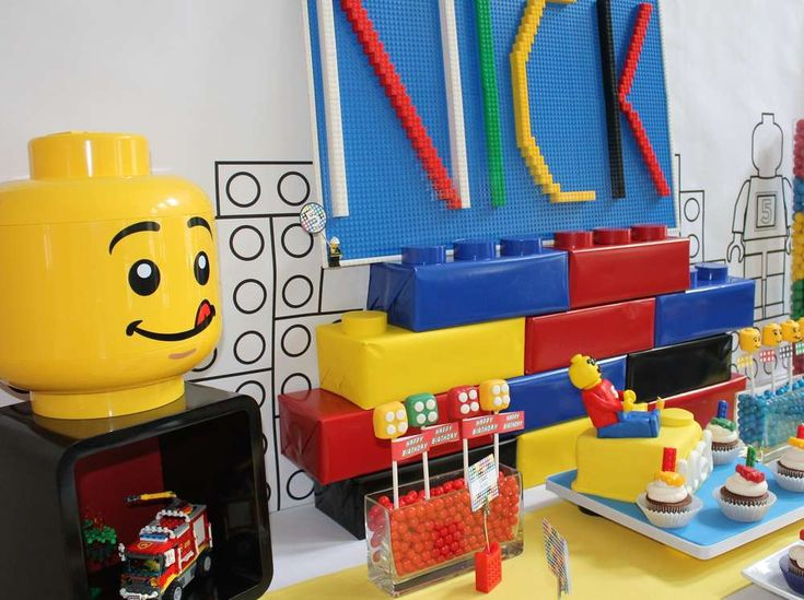 297 best Lego Birthday Party images on Pinterest | Lego parties ...