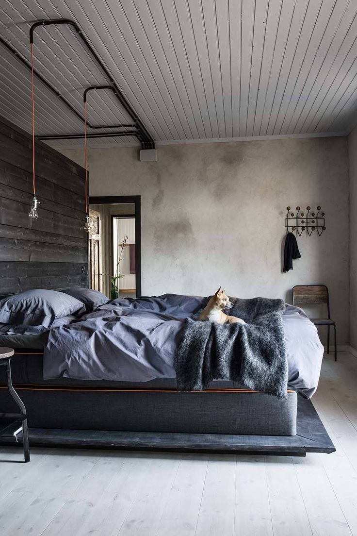 1000 ideas about Industrial Bedroom Design on