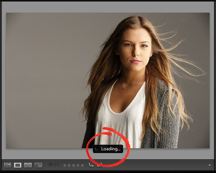 10 Things I Would Tell a New Lightroom User #7 Even though you shot in RAW, Lightroom shows you the JPEG version first.