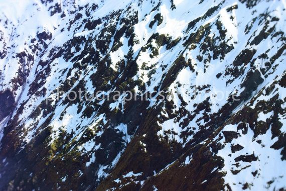 Digital Photography Snow Peaks Mountain by photographicsandmore