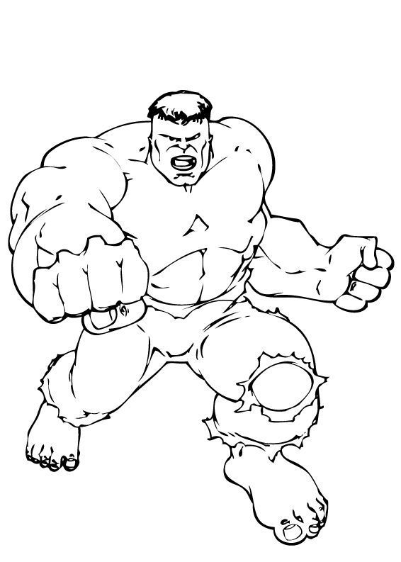 Hulk Coloring Pages Ideas Free Coloring Sheets
