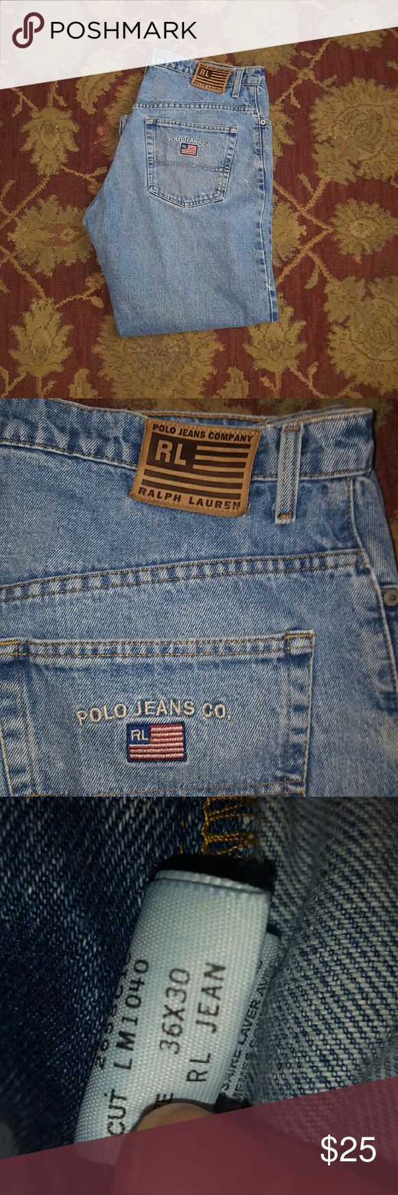 Ralph Lauren men's Polo jeans Ralph Lauren men's Polo jeans size 36x30 Ralph Lauren Polo Jeans Relaxed