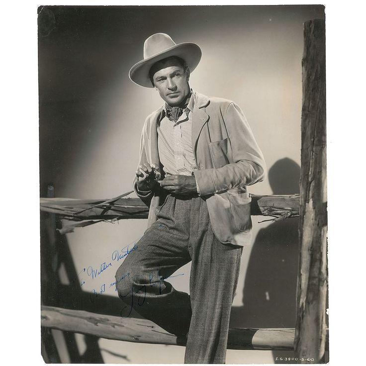 Gary Cooper in The Cowboy and the Lady. 1938