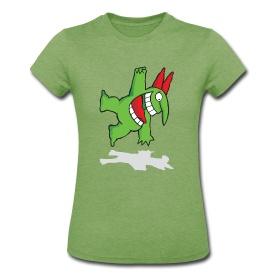 Women's Jersey T-Shirt - Victor Hanging