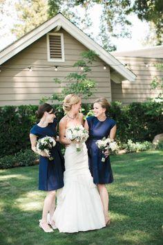 Vestidos color azul marino para tus damas de boda: El tono más chic del 2016 Image: 8