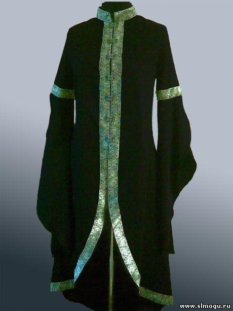 Кафтан - женский - Средневековая одежда - Интернет-магазин - Средневековая реконструкция-ярмарка handmade
