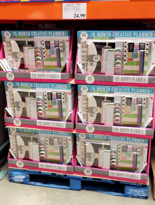 New blog post: Scrapbook Shopping: MAMBI Testing a Happy Planner Kit at Select Costco Stores http://www.scrapbookobsessionblog.com/scrapbook-shopping-mambi-testing-a-happy-planner-kit-at-select-costco-stores/