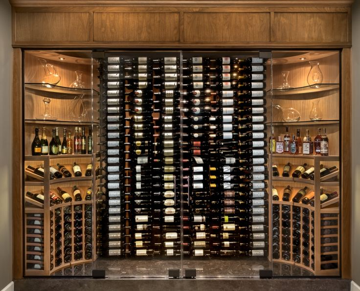 77 best wine rooms and bars images on pinterest kitchen for Walk in wine room