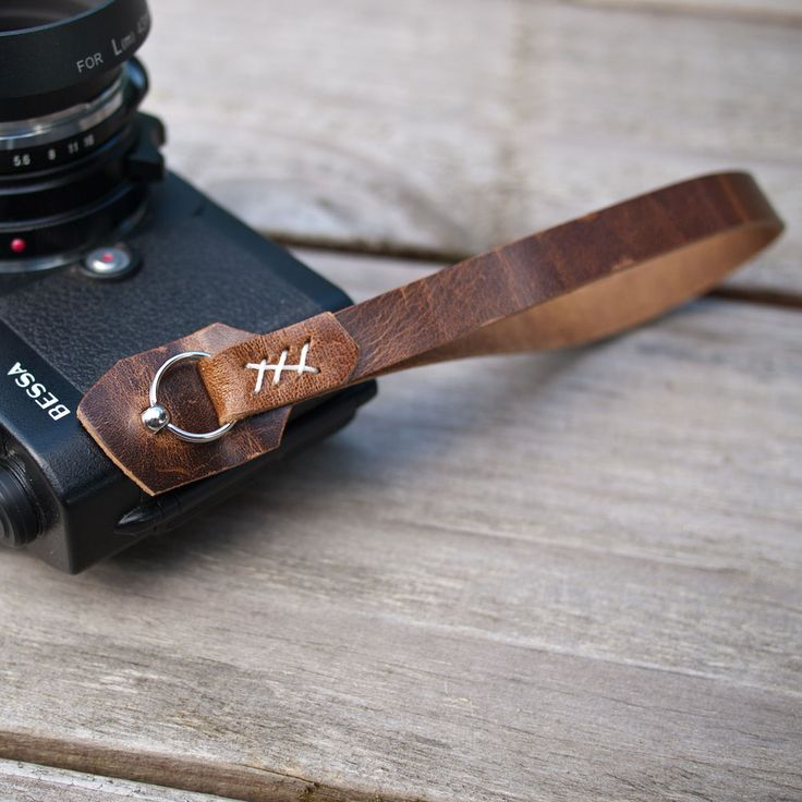 Limited Edition Camera Wrist Strap, by Wood & Faulk