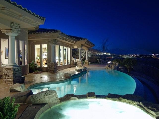 Dream home 12 panorama crest ave las vegas nv luxury real for Las vegas estates for sale