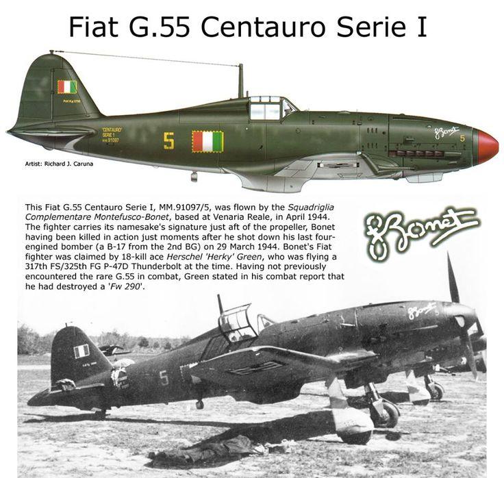 FIAT G.55 Centauro Serie I
