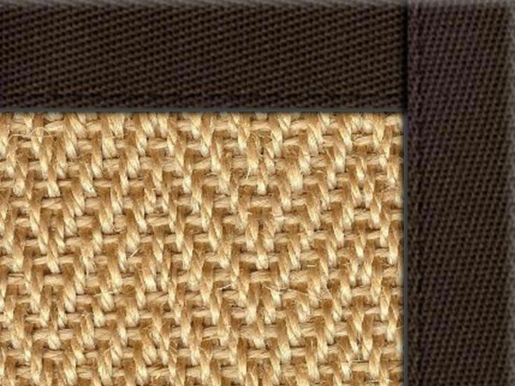 sisal area rug with border