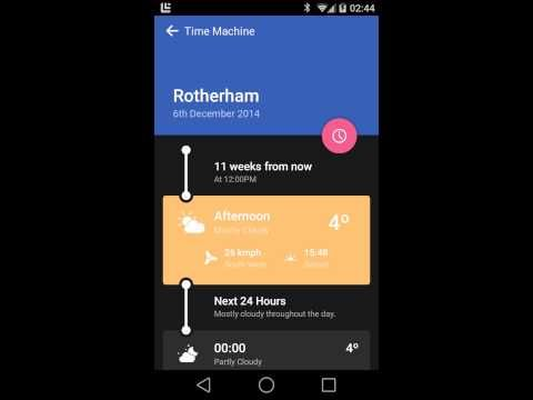 Weather Timeline - Forecast - Android Apps on Google Play