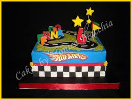 pasteles de hot wheels