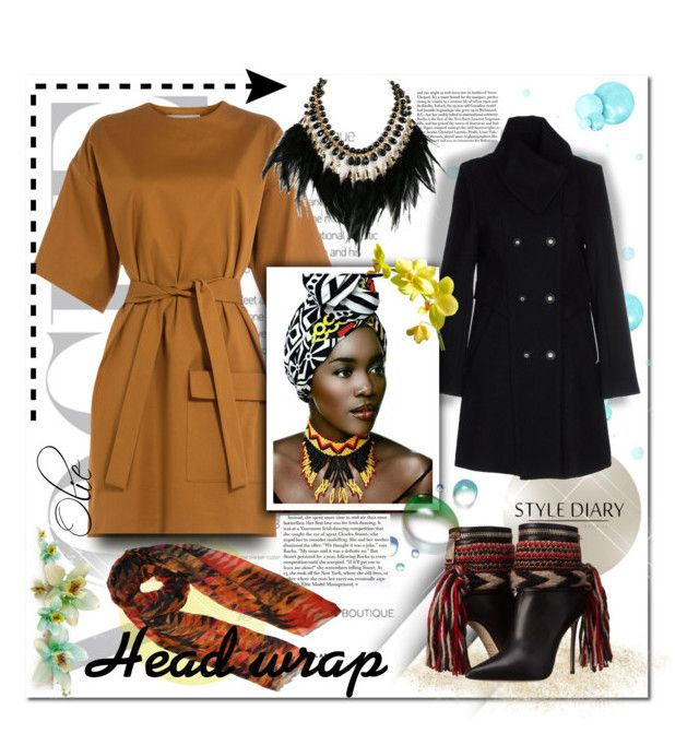 Head Wrap  by azanian-roots on Polyvore   featuring polyvore fashion style MSGM byblos Dsquared2 WithChic