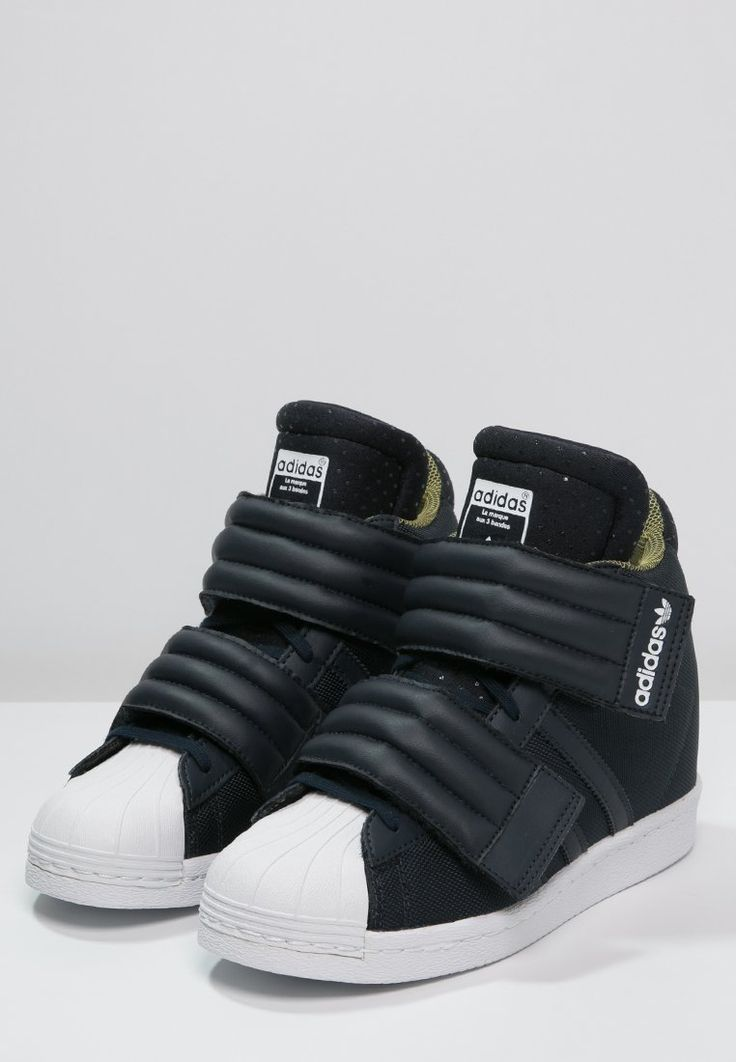 Sneakers hoog adidas Originals RITA ORA SUPERSTAR UP - Sneakers hoog -  legend ink/white
