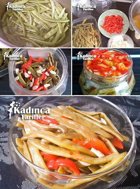 Yağlı Fasulye Turşusu Tarifi sour vegetable
