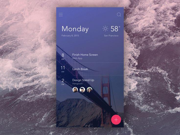 Mail App UI Kit - InVision