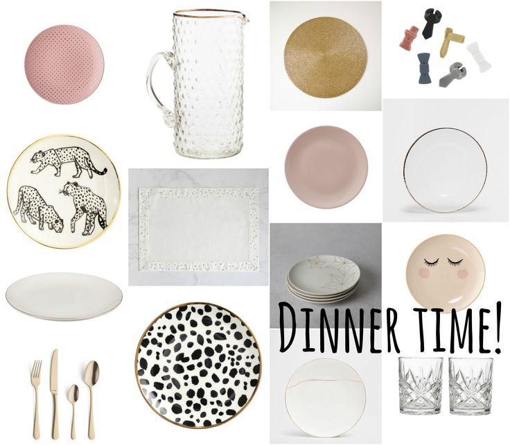 Dinner time! Mooie borden om je tafel feestelijk te dekken - www.lamemechose.nl