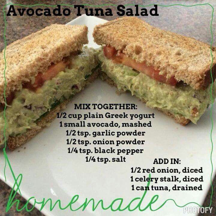 Avacado Tuna Salad