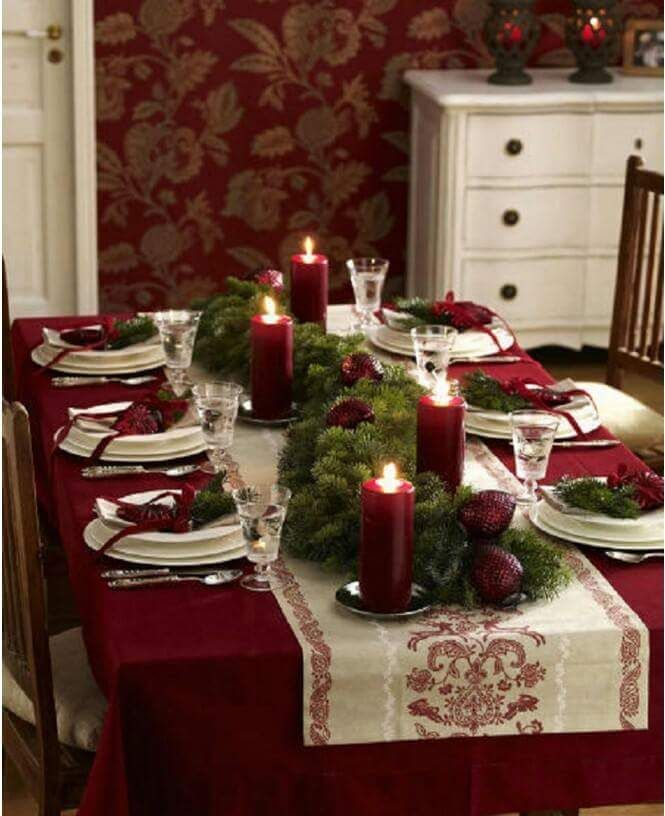 Christmas DIY 50 Table D Decoration Ideas Settings And Centerpieces For