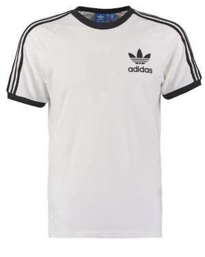 Adidas Originals California Camiseta Print White Adidas Originals Camisetas Las camisetas adidas Originals de hombre pertenecen a la línea más juvenil y desenfadada de esta marca.