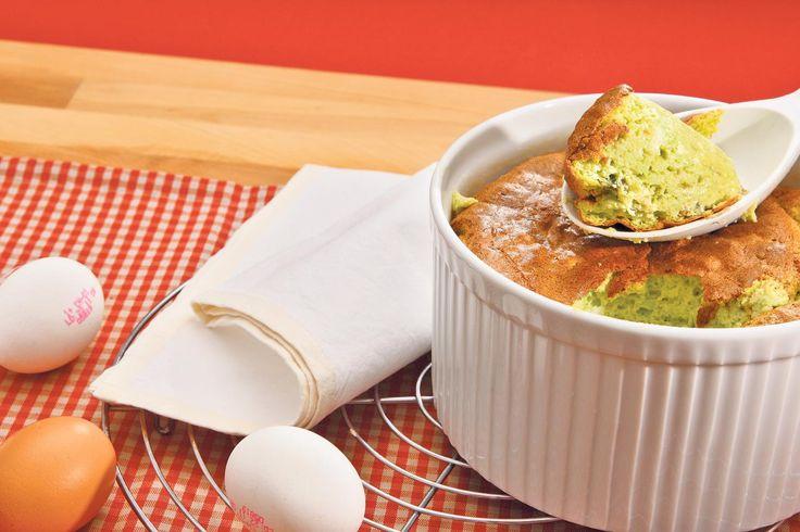 Probieren Sie Erbsli-Käse-Soufflé oder weitere leckere Rezepte von Coop aus der Kategorie Vorspeise