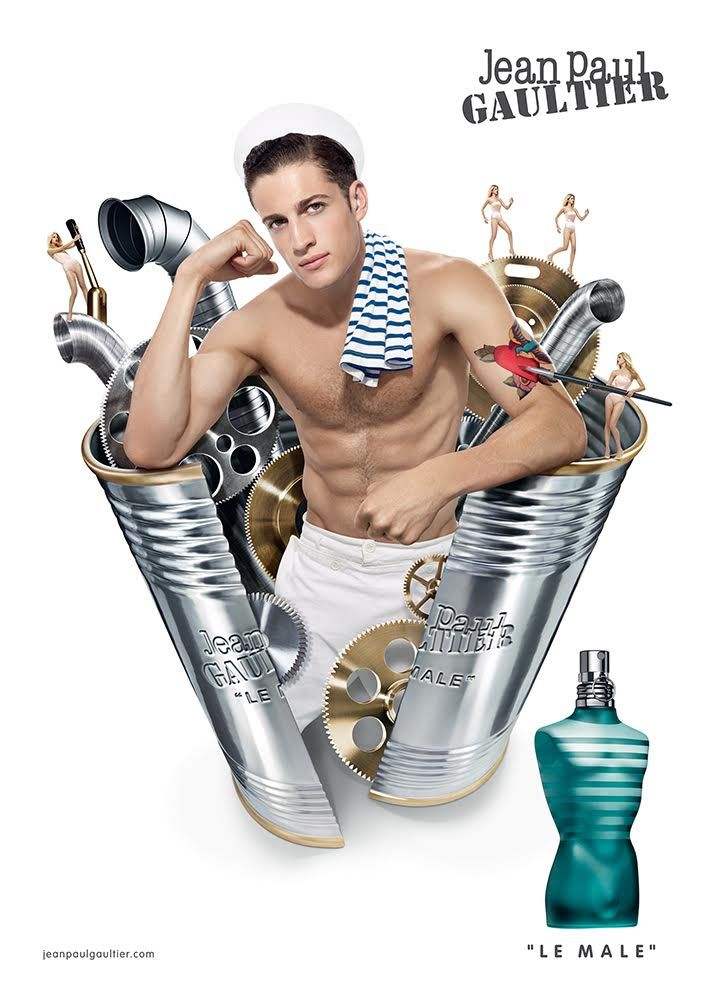 Jean Paul Gaultier Unveils New Le Male Fragrance Campaign