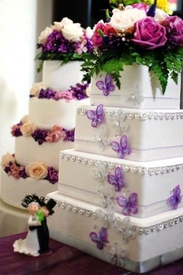 Tortas de matrimonio en Lima.  Mariposas de Duchis Sweets & Cakes | Foto 9