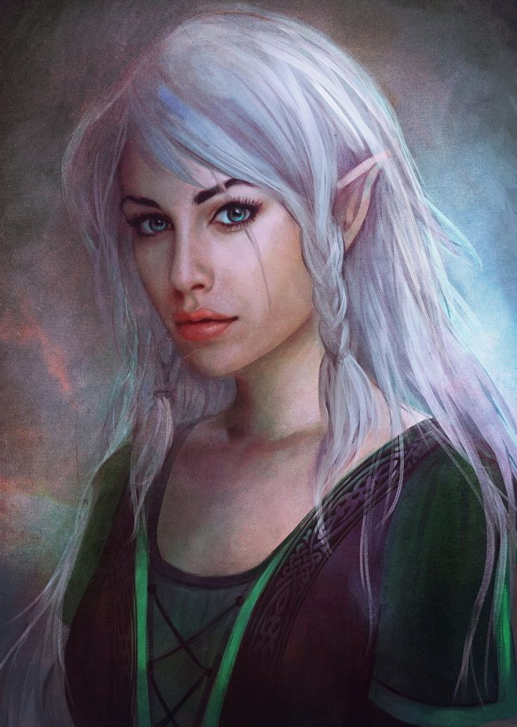 510 Best Elves For D Amp D Images On Pinterest Character Art