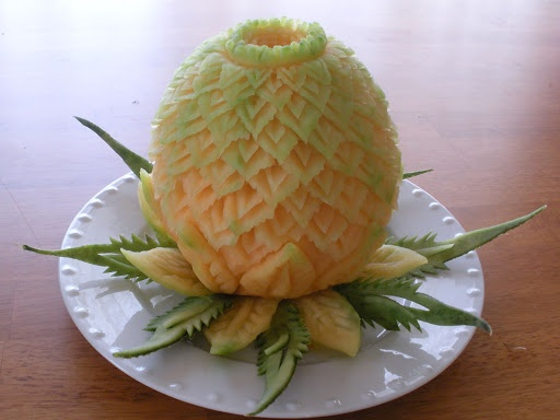 Image detail for -... Fruit Carving Display Food Garnishing Food Photography Garde Manger