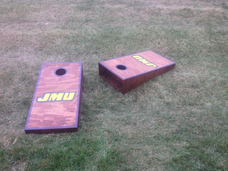 Custom Cornhole Boards For Sale - JMU $150  703-300-8208