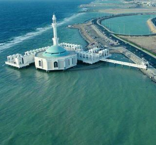 Floating Masjid in Jeddah, Saudi Arabia